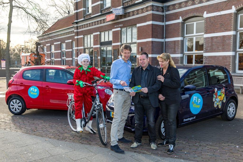 Tiel, 10 maart 2017 Flip en Klaar Kickoff Foto: Jan Bouwhuis.